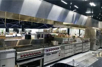 USA. Cosmopolitan Marketplace Kitchen Project
