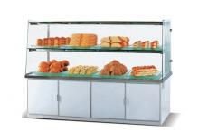 Single Side Bakery Display Showcase with Upward Swing Doors K192