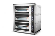 Furnotel Luxury 3-Layer 6-Tray Electric Bread Deck Oven K710-1