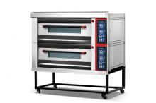 Furnotel Luxury 2-Layer 4-Tray Gas Bread Deck Oven K026-1