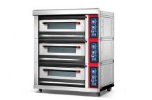 Furnotel Luxury 3-Layer 6-Tray Gas Bread Deck Oven K045-1