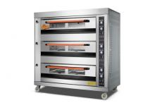 Furnotel Commercial 3-Layer 6-Tray Gas Bakery Deck Oven K1493