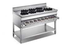 FURNOTEL Asian Gas 7-burner Range with Stand FAGGR-1207AS